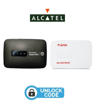 Unlock Code Alcatel Link Zone MW40CJ WiFi Router